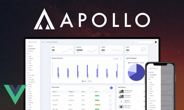 Apollo - Admin Template with a Dark Mode