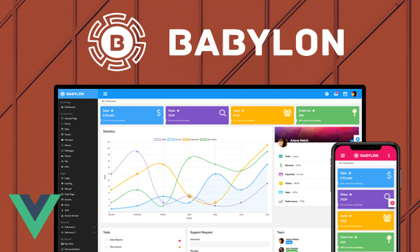 Babylon - Admin Template with Extensive Options