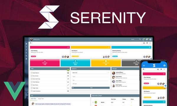 Serenity - Material Design Admin Template