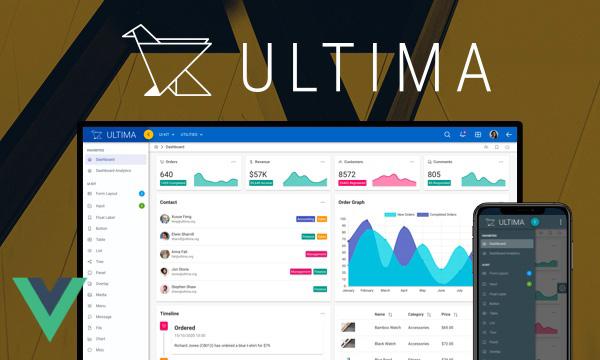 Ultima - Material Design Admin Template