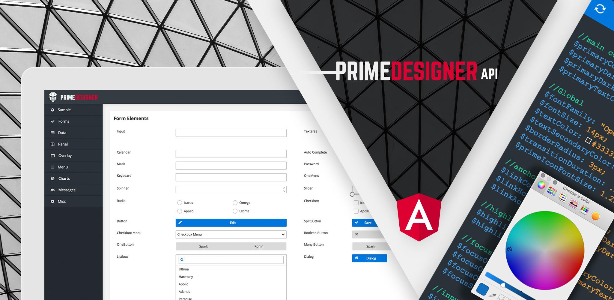 Designer for PrimeNG | PrimeFaces